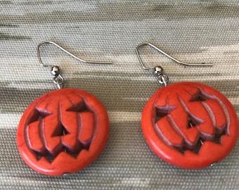 Lovely Pumpkin Earrings
