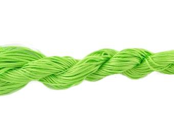 12 metres of neon green color nylon string