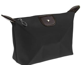 x 1 Kit/toiletry/cosmetic Pouch Black