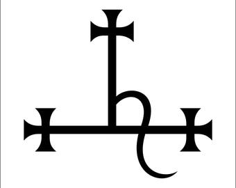 "Sigil of Lilith Vinyl Auto Decal Window Sticker 4"" Lilin"