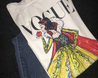 Snow White  Disney Fashion T-shirt