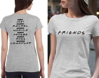 Custom Friends TV show t-shirt friends shirt Unisex and Women #J