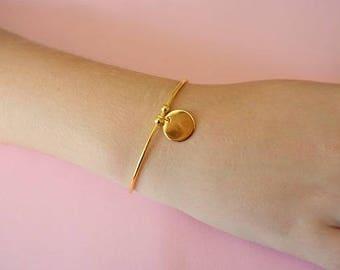 Celebrity bracelet in Sterling gold plated 925 Silver