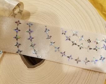 "Rare Louis Vuitton 1.5"" Ribbon Satin ribbon"