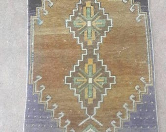 Oushak rug,Vintage rug,Turkish oushak rug,Vintage oushak rug,Homeliving,Wool on Cotton