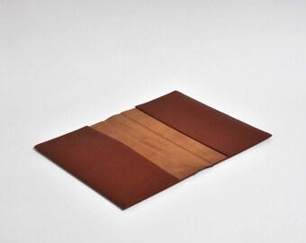Reader full leather pocketbook