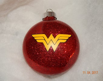 Wonder Woman inspired ornament
