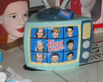 Brady Bunch Ceramic Cookie Jar