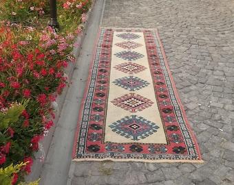 vintage runner rug,ouchac runner carpet,hallway rug,home decor rug,turkish carpet,runner rug FREE SHIPPING