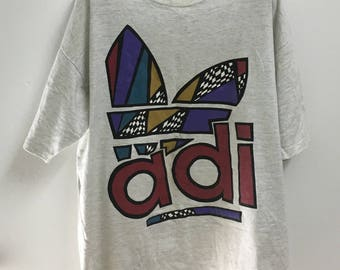 Vintage Adidas Big Logo Shirt