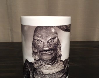 The Creature From The Black Lagoon 15 oz Mug