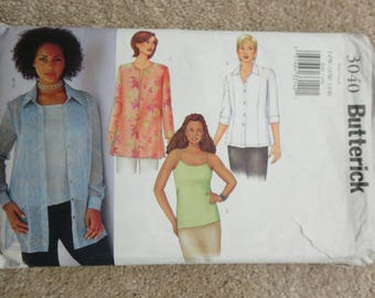 Butterick 3040 Size 14W-16W-18W  ladies blouses