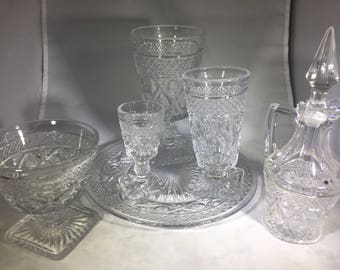 Cape Cod Clear Stemware by IMPERIAL GLASS-OHIO