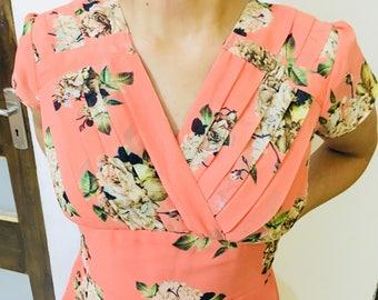 Faux Georgette dress, casual dress