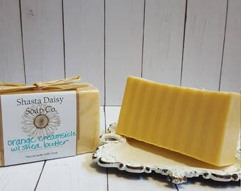 Orange Creamsicle Shea Butter Soap