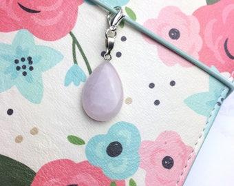 Rose Quartz Planner Charm