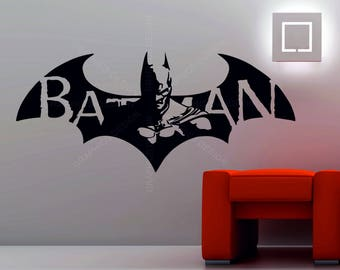 Batman wall mural etsy for Batman wall mural uk