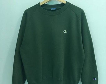 SALE!!! Champion Sweatshirt With Small Logo Pullover Jumper