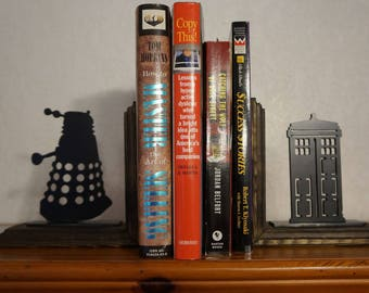 Dr who book ends