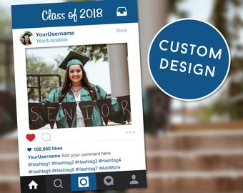 Graduation Photo Booth, Graduation Party Props, Graduation Decor, Instagram Frame, Instagram Sign, Graduation Frame, Photo Booth Frame