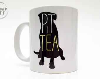 Pitbull Mug - Pittie - Pitbull - Pittea - Tea - Dog Mom - Dog lovers - Pit Bull Art - Gift for Her - Tea Lover Gift - Dishwasher Safe - Dogs