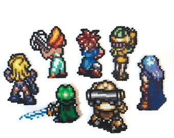 Chrono Trigger Party Members - Battle Poses