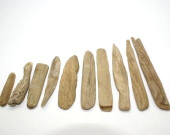Driftwood / Sea wood / Wood Decoration / Frames / Beach Crafts / Beach Decor / 10 pieces