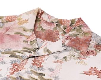 "Japanese ""KIMONO"" Aloha Shirt/jpam502"