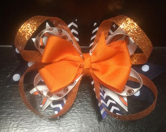 Chicago Bears Boutique Bow