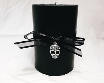 Succubus - Musky Cologne Soy Wax Pillar Candle