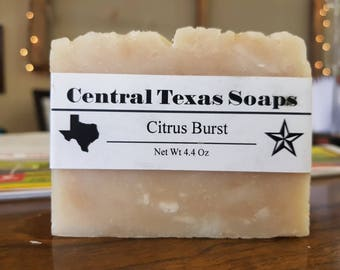 Citrus Burst Bath Soap