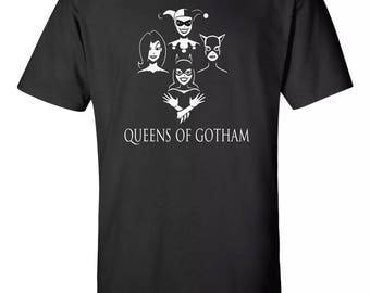 "Queens Of Gotham ""Queen Album Inspired"" Tee Sz:S-2XL"