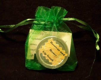 Honey and Beeswax lip balm