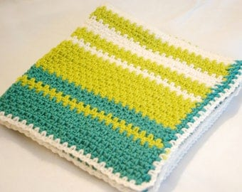 Soft & Cozy Hand Crochet Baby Blanket
