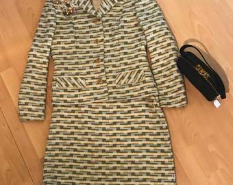 Stunning Aireton Wool Worsted Skirt Suit