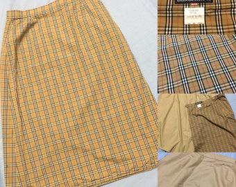 Authentic vintage Burberrys skirt 26x26.5