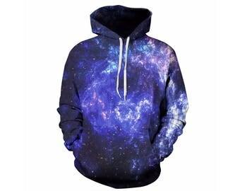 Galaxy Hoodie, Galaxy Sweatshirt, Galaxy, Galaxy Jumper, Galaxy Hoodies, Space, Space Hoodie, 3d Hoodie, 3d Hoodies, Hoodie - Style 20