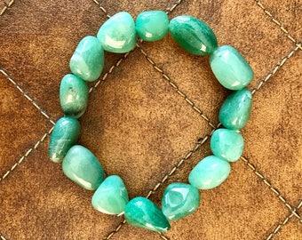 Aventurine Tumbled Stone Bracelet