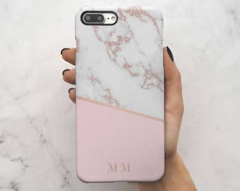 iphone 7 case marble rose gold