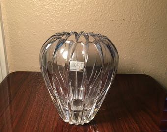 Mikasa Glass Vase & Vintage mikasa crystal vase | Etsy azcodes.com