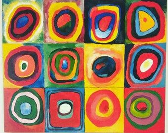 Acrylic Kandinsky