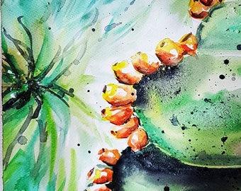 Summer Watercolor