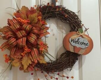 Harvest wreath