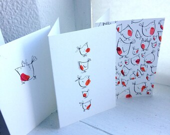 Handmade Cards, Robin Design