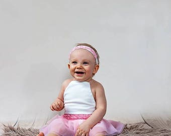 Sitter Romper Photography,headband,Sitter Photo Prop,9 Month Photo Outfit Girl,Romper, Sitter Size Overall,Photo Props,12 Month Photo Outfit
