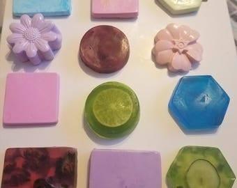 Variaty of handmade soaps