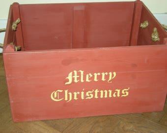 Christmas Eve Box Merry Christmas