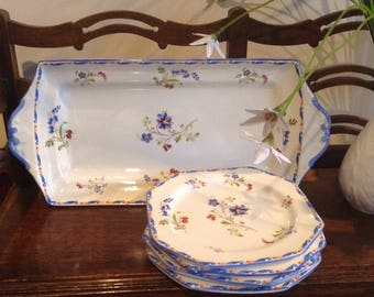 A very pretty Paragon china sandwich set.