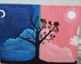 Dusk to Dawn Painting