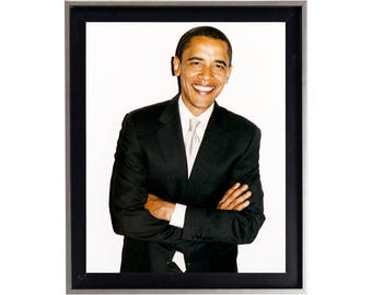 Barack Obama by Terry Richardson Poster or Art Print